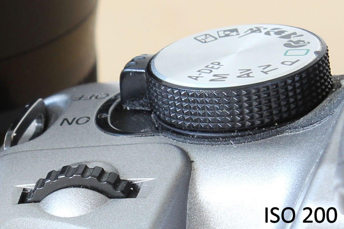 ISO 200 mit der Canon EOS 1300D