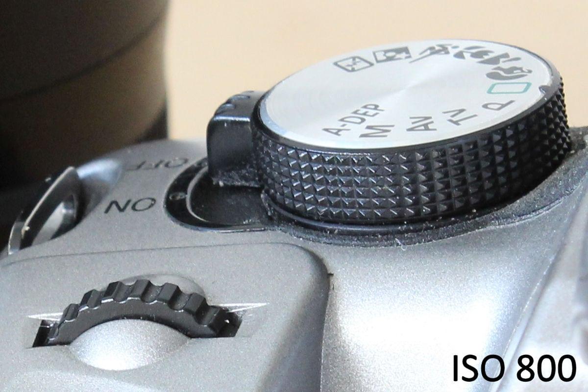 ISO 800 mit der Canon EOS 1300D