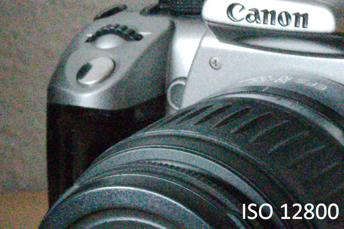 ISO 12800 mit der Canon 7D Mark II