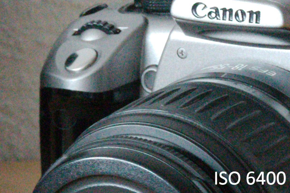 ISO 6400 mit der Canon 7D Mark II