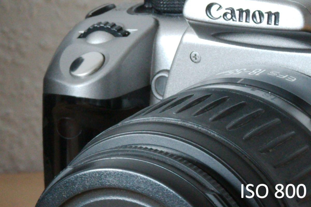 ISO 800 mit der Canon 7D Mark II