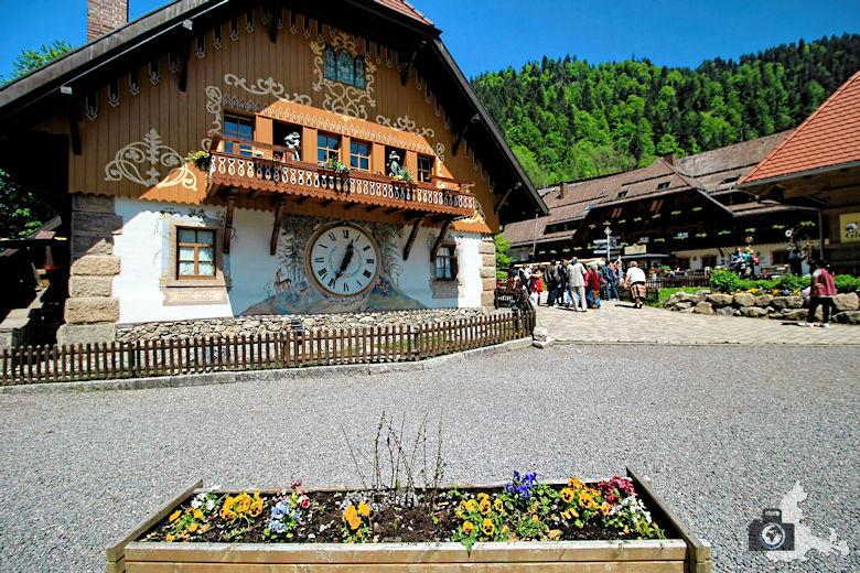 Größte Uhr im Hochschwarzwald in der Ravennaschlucht