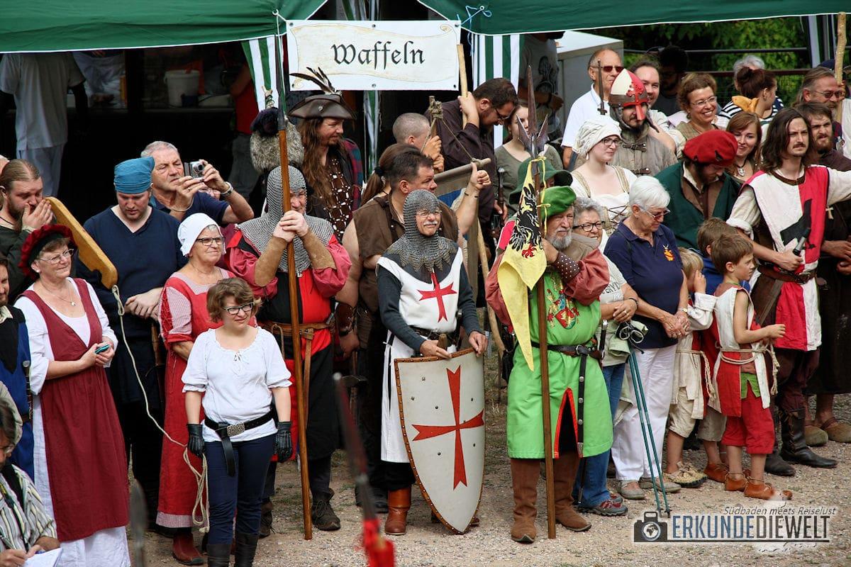 Impressionen vom Hochburgfest 2016 auf der Hochburg Emmendingen
