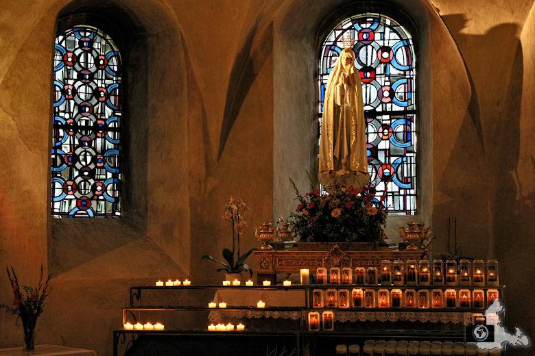 Altar im Kloster in Echternach, Luxemburg