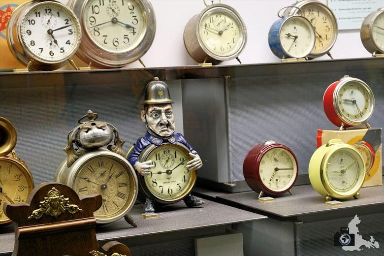 Uhren und Wecker im Uhrenmuseum Furtwangen