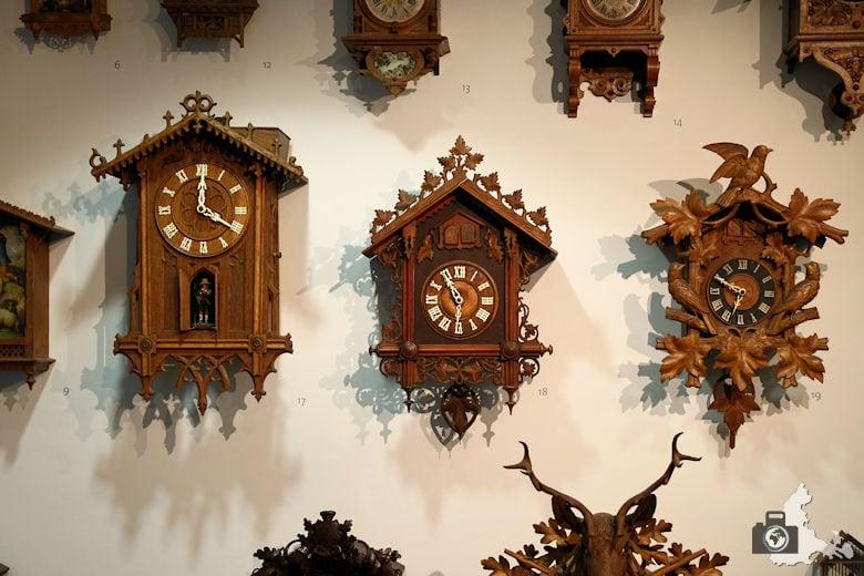 Kuckucksuhr im Uhrenmuseum Furtwangen