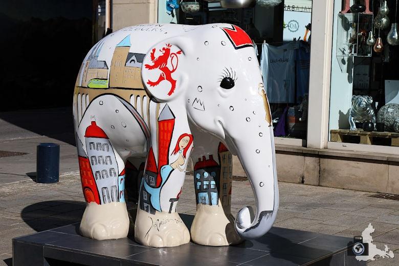 Luxemburg Elefant Kunst