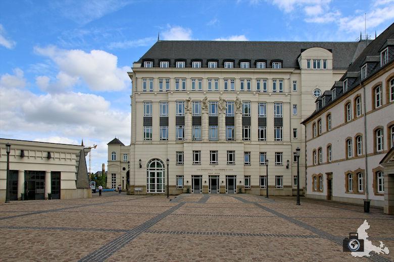 Luxemburg Gerichtsviertel mit Justizpalast