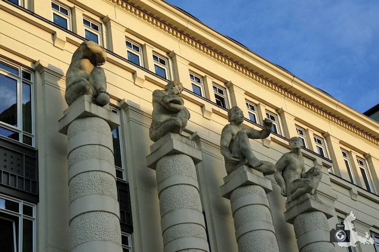 Luxemburg Gerichtsviertel mit Justizpalast Abendsonne