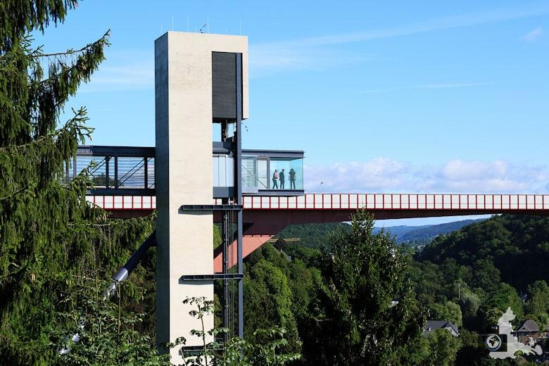 Luxemburg gläserner Fahrstuhl