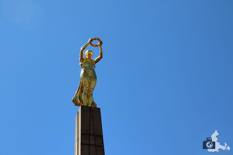 Luxemburg Goldene Frau