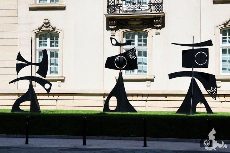 Luxemburg Kunst Skulpturen