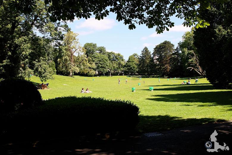 Luxemburg Parc Municipal Sportplatz