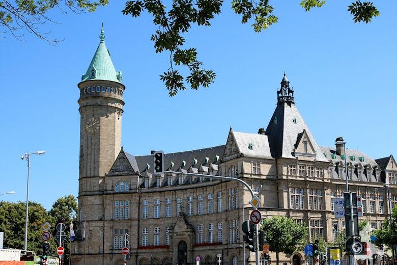 Luxemburg Sitz der Hohen Behörde der Europäischen Gemeinschaft für Kohle und Stahl (EGKS)