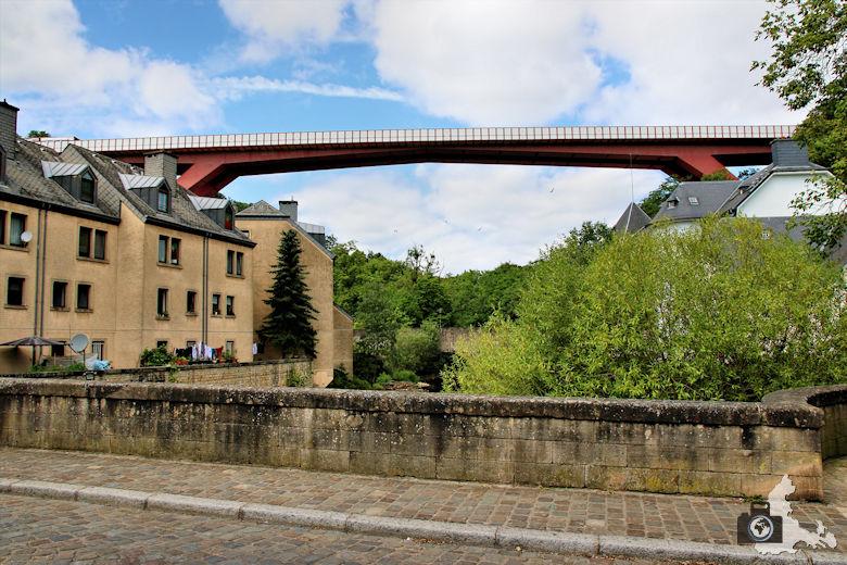 Luxemburg Unterstadt Pfaffenthal Brücke