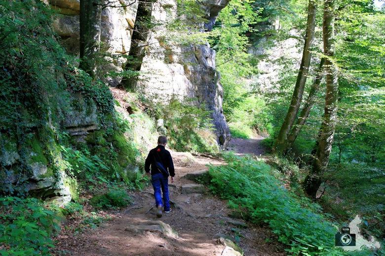 Mullerthal Trail Wanderweg, Luxemburg