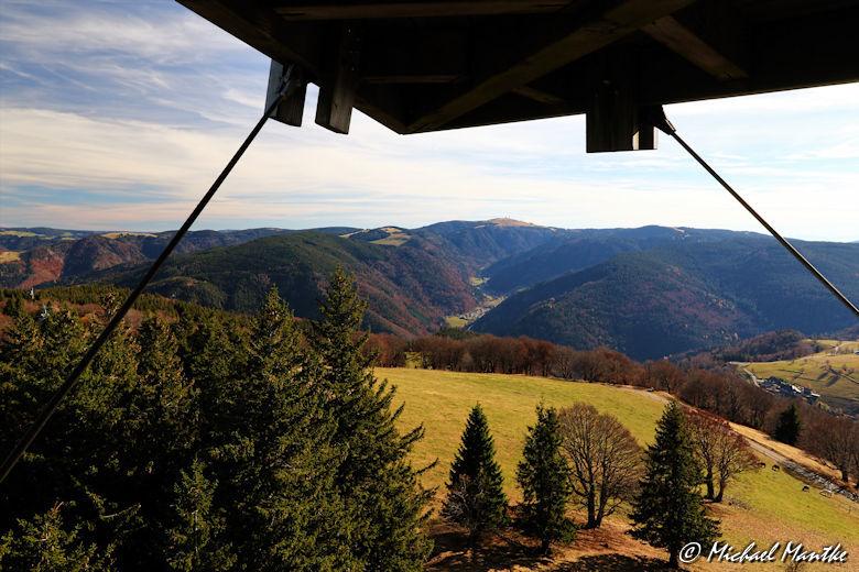Schauinsland Blick zum Feldberg