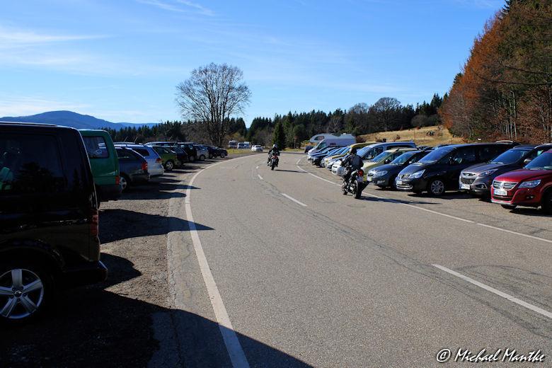 Schauinsland Parken an der Straße