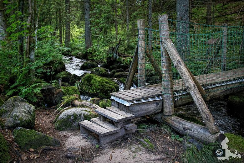Uhrwaldpfad Rohrhardsberg Muehlebuehlbruecke