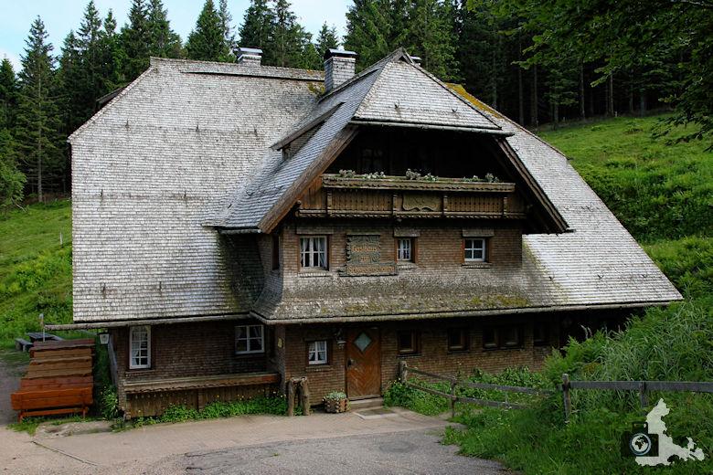 Uhrwaldpfad Rohrhardsberg Gasthaus zur Schwedenschanze