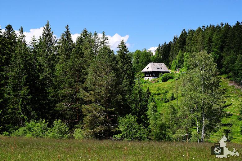 Uhrwaldpfad Rohrhardsberg Schwarzwaldhaus