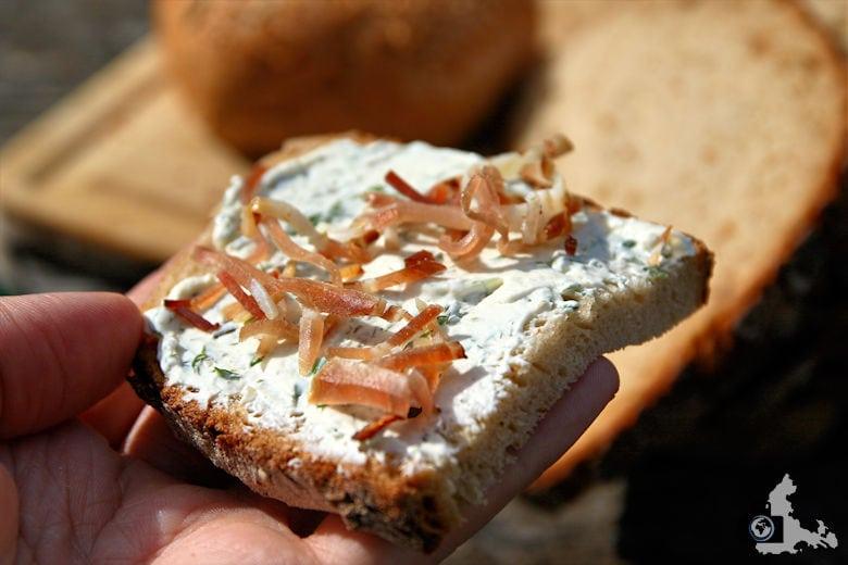 Schwarzwald Vesper Bibliskäs Brot Schwarzwälder Schinken