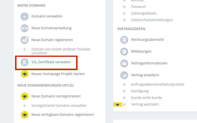 ssl-zertifikat-anlegen-1und1-control-center
