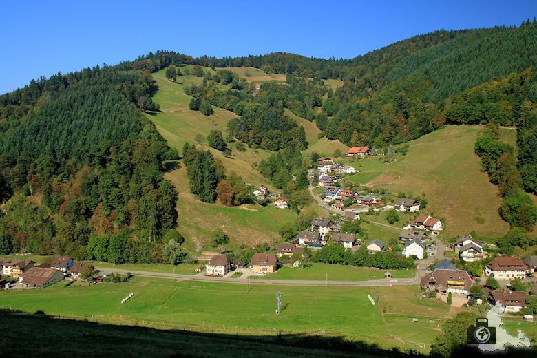 Münstertal Landschaft im Schwarzwald