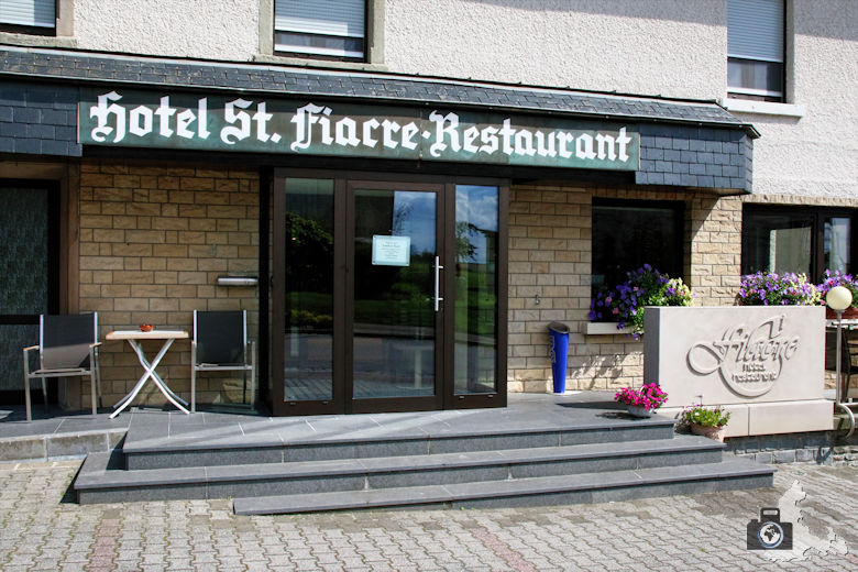 Hotel St. Fiacre in Bourscheid, Luxemburg