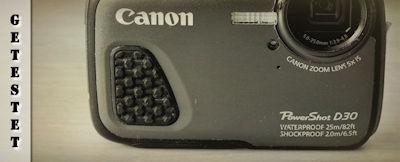 Canon PowerShot D30 im Test