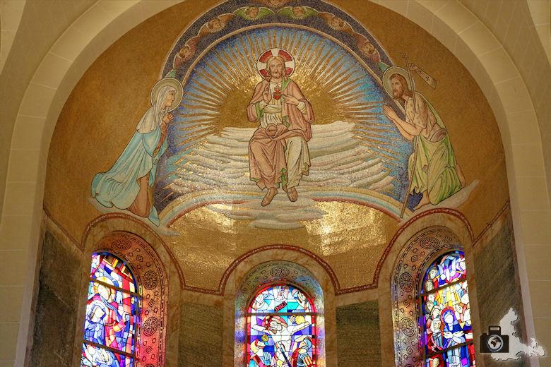 Clervaux Pfarrkirche Mosaik