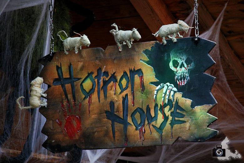 Horror House an Halloween im Europa-Park