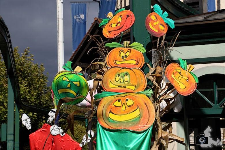 Kürbisse zu Halloween im Europa-Park
