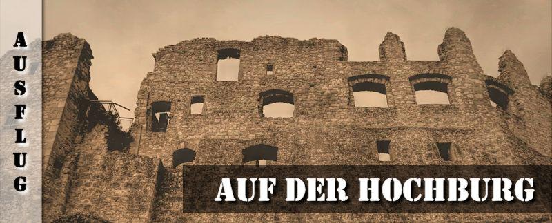 Führung auf der Hochburg Ruine