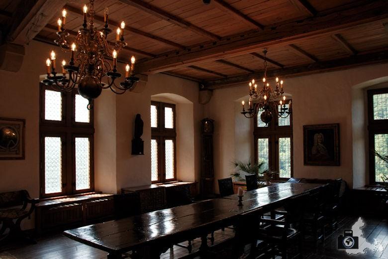 Schloss Vianden Bankettsaal