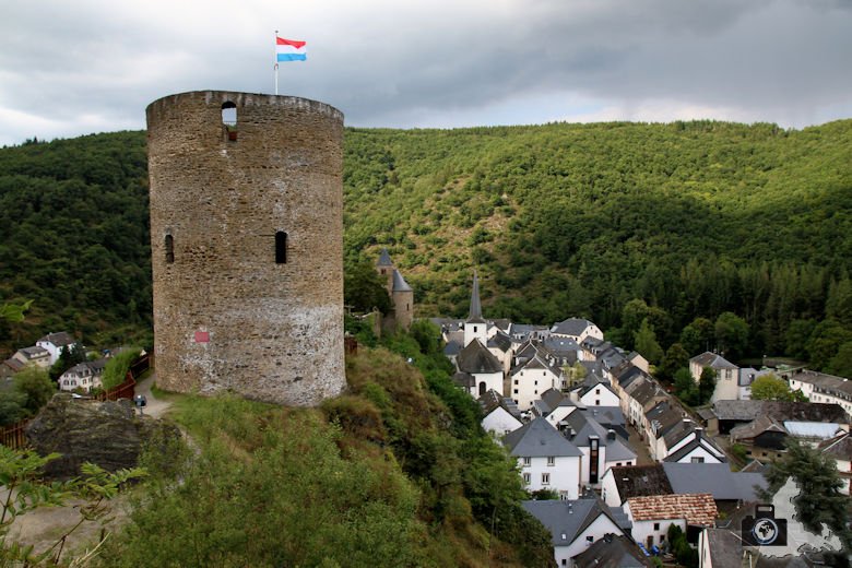 Burg-Ruine Esch-sur-Sûre