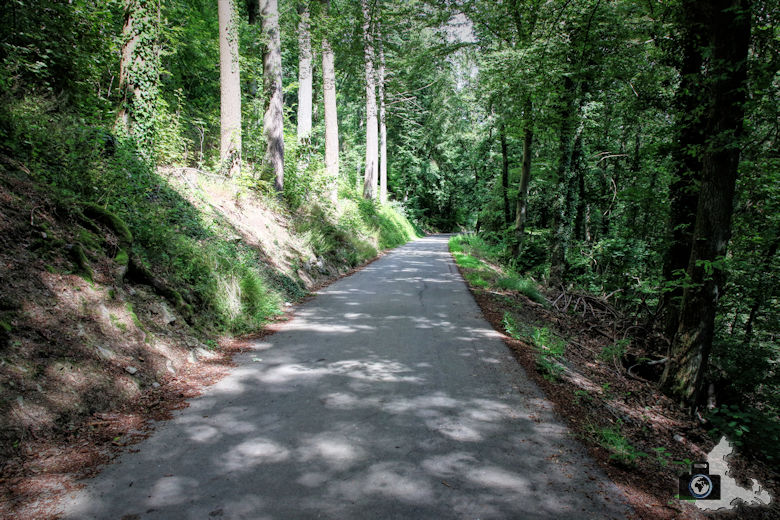 Wanderweg von Clervaux zur Abtei Saint Maurice