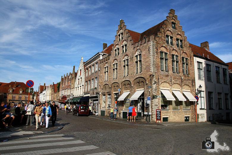 Altstadt Brügge in Belgien