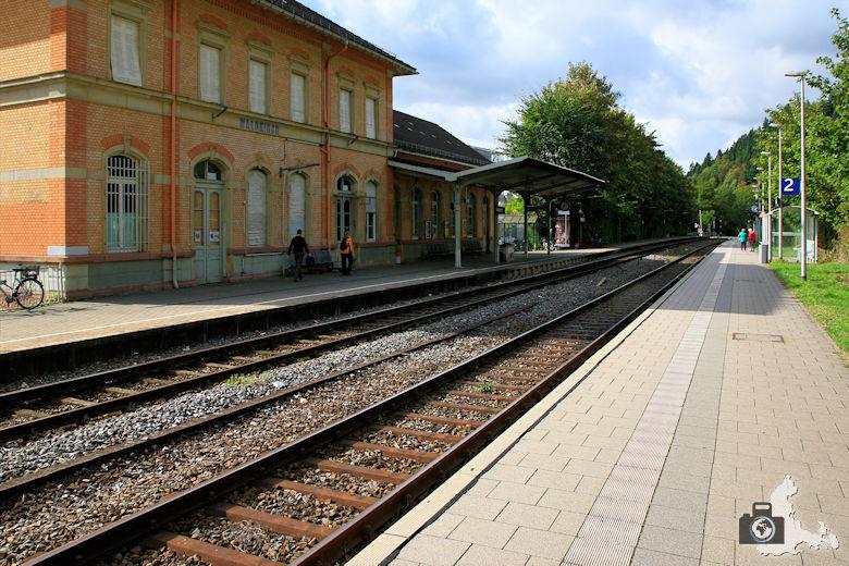 Am Bahnhof Waldkirch