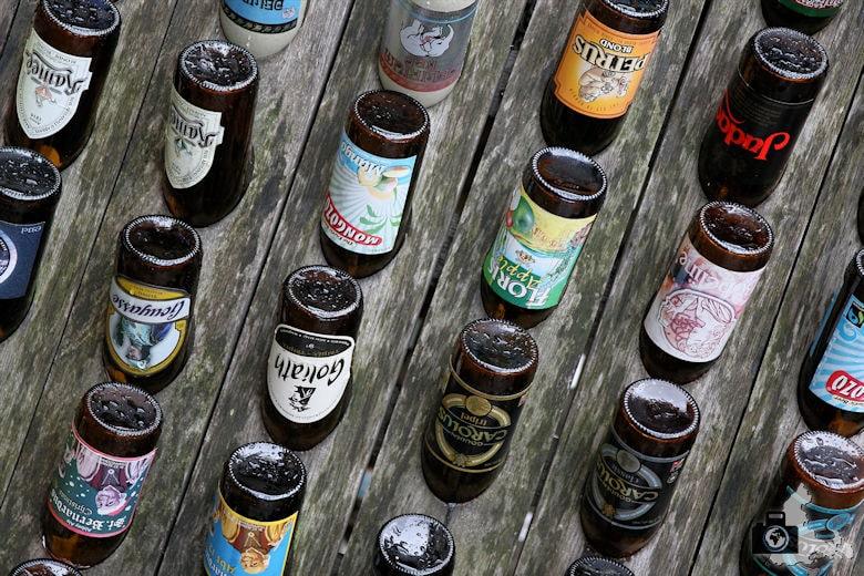 La Roche-en-Ardenne - Belgische Biersorten