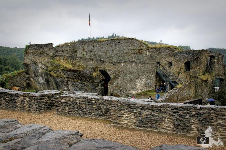 La Roche-en-Ardenne - Burg Ruine