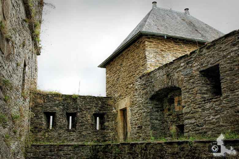 Burg Bouillon in Belgien