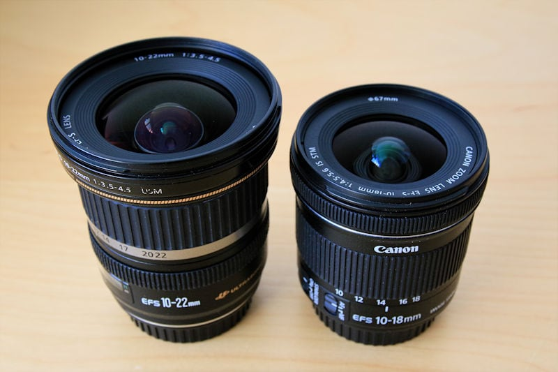 Canon 10-22 USM versus Canon 10-18 IS STM