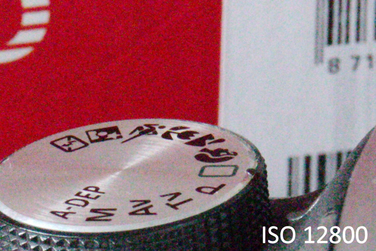ISO 12800 mit der Canon EOS 760D