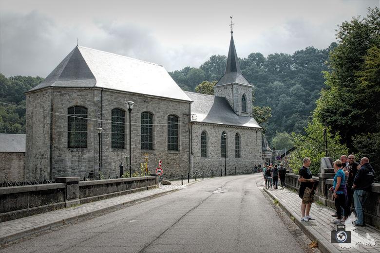 Kirche in Durbuy in den Ardennen