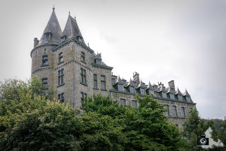 Schloss in Durbuy in den Ardennen