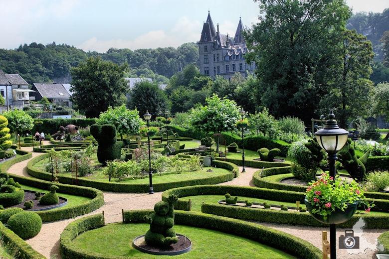 Skulpturengarten in Durbuy in den Ardennen