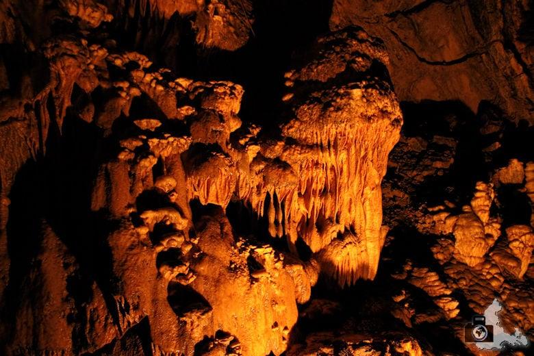 Höhlen von Hotton in den Ardennen