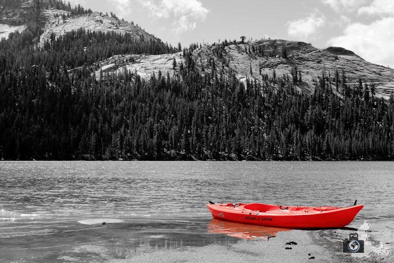 Monochrome Red Fotobearbeitung Beispielbild