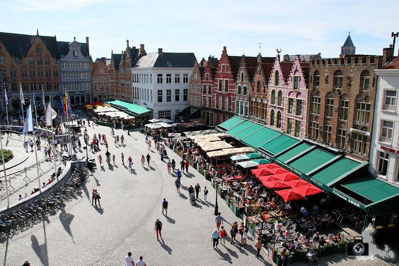 Place de Bruges in Brügge in Belgien